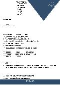 中職學生求職面試簡歷簡約模板