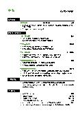 财务管理简历制作Word格式